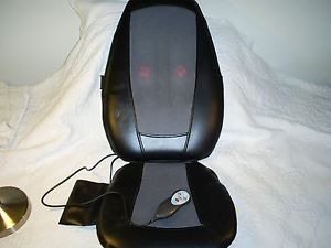 Homedics SBM 200H Therapist Select Shiatsu Back Massage Cushion Chair Seat Heat