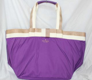 Kate Spade New Barrow Street Anabel Baby Bag Retail $348 Violet Purple PXRU2944