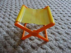 Vintage Mattel 1970's Big Jim Barbie Sports camper Folding Camping Chair