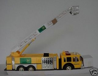 RARE 1997 BP Fire Truck Ladder Bucket British Petroleum Firetruck Oil Company
