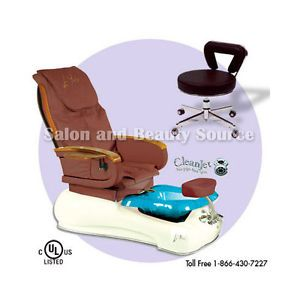 Pedicure Unit Foot Spa Chair Gulfstream La Fleur 2