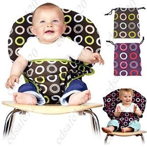 Ring Pattern Baby Dining Chair Seat Cover Protector