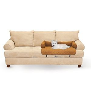 KH Mfg Dog Cat Pet Bolstered Bed Loveseat Chair Couch Sofa Cover Protector Large