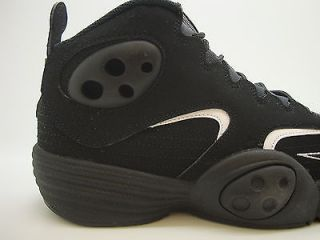 538133 010 Mens Nike Air Flight One Black White Basketball Performance QS 2012