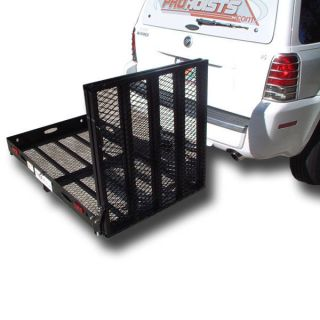 500lb Carrier Loading Ramp Mobility Scooter Electric Power Wheelchair Heavy Duty