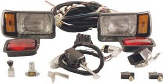 Club Car Golf Cart DS Gas or 36 Volt Electric 1993 Up Light Kit Black