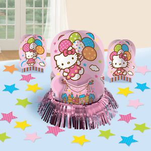 Hello Kitty Birthday Party Supplies Balloon Table Decorations Centerpiece