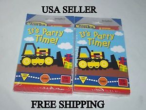 Tonka Truck Birthday Party Supplies