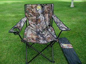 Mens Folding Chair LSU Big Boy New Seat Is 24 5x24 5 Holds 350lb Camo Color
