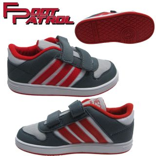 New Adidas Skneo Kids Infants Toddlers Velcro Casual Sports Trainer Shoes Size