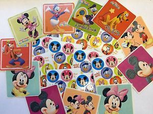 71 Disney Mickey Mouse Minnie Goofy Donald Stickers Party Favors Teacher Supply
