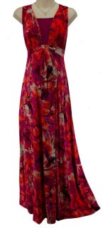 Large L New Sexy Womens Maxi Maternity Dress Summer Print Stretch Baby Shower