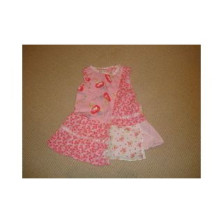Guar Auth Baby Lulu Pink Patchwork Little Girls Dress Sz 24 Months Sooo Cute