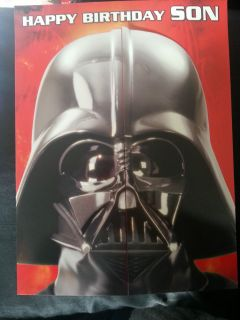 Star Wars Danilo Birthday Card 'Happy Birthday Son' R R P £9 99