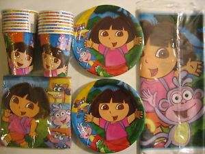 Dora The Explorer Friends Birthday Party Supply Kit