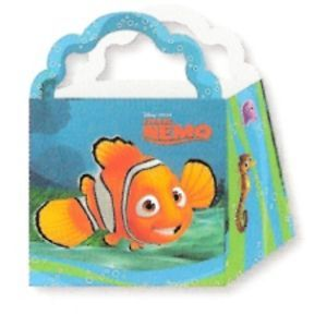 4 Disney Finding Nemo Treat Boxes Birthday Party Supplies Favors