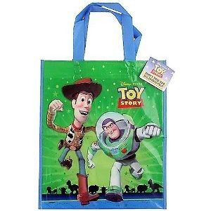 Disney Toy Story III Plastic Tote Bag Birthday Party Supplies Favors