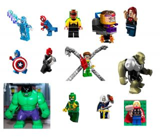 Lego Marvel Super Heroes Minifigures UR Choice Avengers Assemble Ultimate