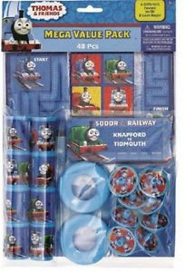 Thomas The Train Friends 48 Pieces Party Favor Pack Birthday Party Supplies