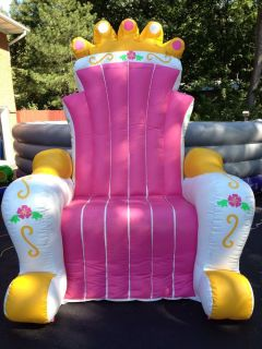 Inflatable Princess Chair Bounce House