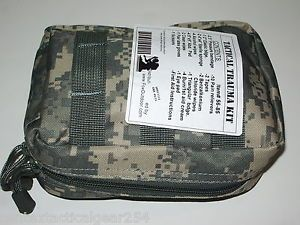 ACU Digital Camouflage First Aid Kit Medic EMT IFAK MOLLE Pouch w Supplies