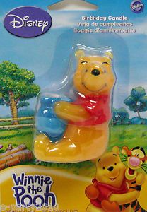 Winnie The Pooh Wilton Honey Pot Cake Candle Birthday Party Supplies