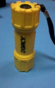 Dorcy 3AAA 9 LED Flashlight Each Battery Flashlights 41 4240 035355442403