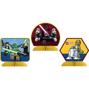 Star Wars Lego Centerpieces Happy Birthday Party Decorations BNIP New Design