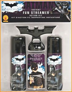 Batman Dark Knight Streamer Costume Accessory Party Favor Foam Fun String Kit