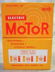Educational DC Electric Motor Model Kit School Classroom Lab Science Toy Iasco