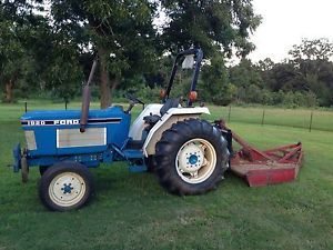 1989 Ford 1920 Tractor 32 HP located in Enterprise Al