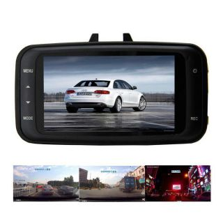 "Full HD 1080p 2 7"" Car DVR Digtial Video Camera Wide Angle HDMI Motion Detection"