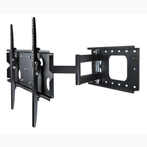 Full Motion Corner TV Wall Mount Articulating Swivel Tilting for Plasma LCD LED