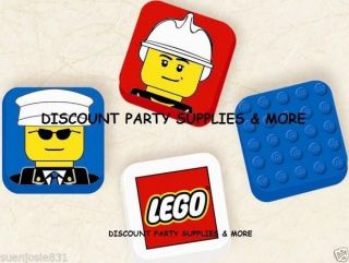 Lego City Pencil Erasers 4ct Party Favors School Supplies