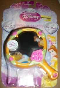 Disney Belle's Magic Mirror LCD Handheld Video Game Beauty and The Beast