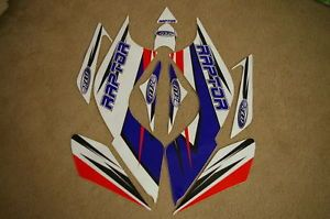 Face Lift Graphics Yamaha Raptor 700 Blue Red White