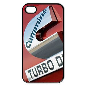 New Dodge Truck Emblem Cummins Turbo Diesel Hard Case Cover Apple iPhone 4 4S