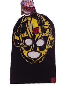 Boys Transformers Bumble Bee Face Mask Halloween Costume Mask Winter Hat New