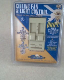 New Harbor Breeze Ceiling Fan Light Controls Switch RFI Filter Lighting Lamps