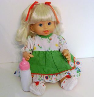 Little Mommy Sweet as Me Doll Beach Baby Blonde Fisher Price Mattel 2007 Cute