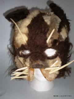 Cat Mask Scary Halloween Costume Adult Cats Musical Style