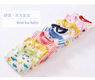 New Hot Baby Girls Boys Toddlers Romper Coverall Clothes Cotton Size 0 10 Months