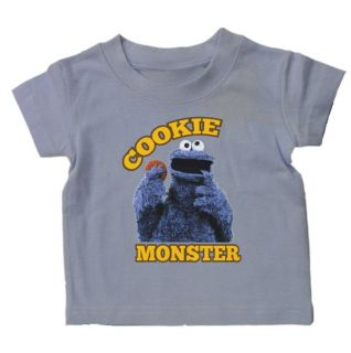 Cookie Monster Baby Toddler Kids T Shirt Sesame Street