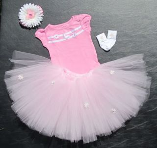 "Hand Made Four Piece ""Princess Tutu Set"" 18"" 24"" Reborn Doll Butterfly Daisy'S"
