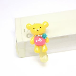 Lovely Child Kids Girl Baby Hair Clip Bear Hairpin Headwear Decor Barrette HJ325