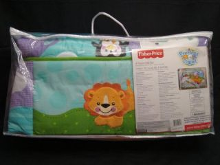 Fisher Price Baby Precious Planet 4pc Crib Bedding Set