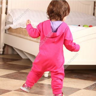 New Baby Kid Toddler Infant Girl Onesie Bodysuit Romper Jumpsuit Coverall Outfit