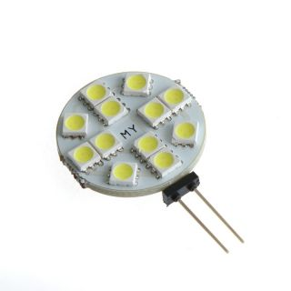 G4 White Warm White 5050 1210 SMD 6 9 12 24 LED Light Marine Boat Lamp Bulb 12V