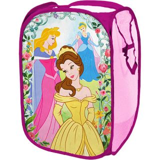 Disney Princess Pop Up Toy Box Storage Clothes Hamper