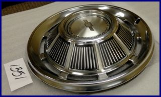 "1969 69 Chevy Chevelle Corvair Chevy II 15"" Hubcap Hub Cap New 3952"
